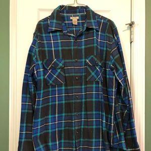 Flannel button down